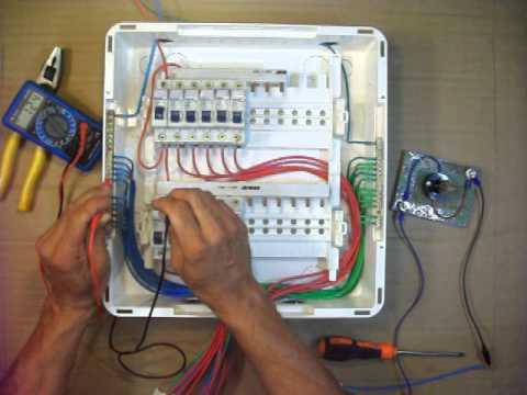 Como montar o quadro de distribuição elétrica residencial